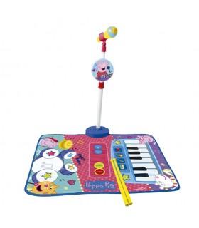 Alfombra batria y piano con micro 2348 PEPPA PIG REIG