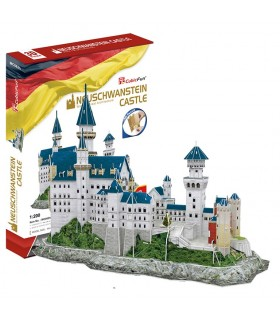 Puzzle 3d - castillo Neuschwanstein MC062 CUBIC FUN