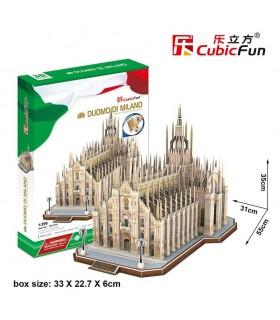 Puzzle 3d - Catedral Duomo de Milán MC210 CUBIC FUN