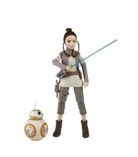 Figura Rey of Jakky & BB-8 C1628 STAR WARS HASBRO