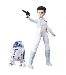 Figura Leia y R2D2 Star Wars e8 destiny C1629 STAR WARS HASBRO