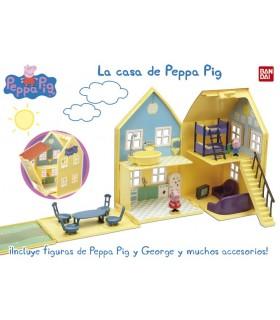 Casa de la familia 84212 PEPPA PIG BANDAI
