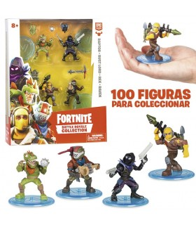 Pack 4 figuras 7cm FRT14000 FORNITE GIOCHI PREZIOSI