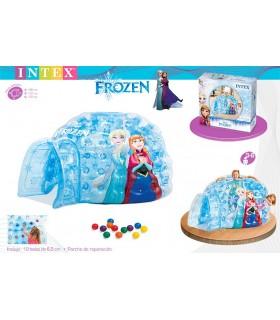 Tienda iglú hinchable con 12 bolas 48670NP FROZEN INTEX