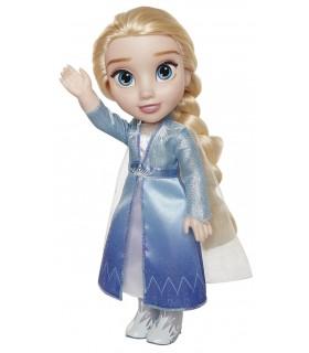 Muñeca Elsa 35cm vestido de viaje 207054 FROZEN JAKKS PACIFIC