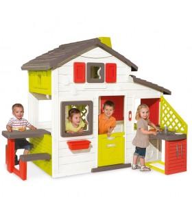 Casa friends con cocina exterior 810200 SMOBY