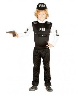 Disfraz infantil FBI con pistola 1002818518 FIESTAS GUIRCA