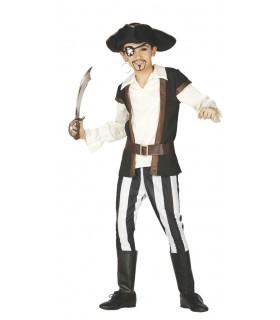 Disfraz pirata infantil con espada 1004018355 FIESTAS GUIRCA