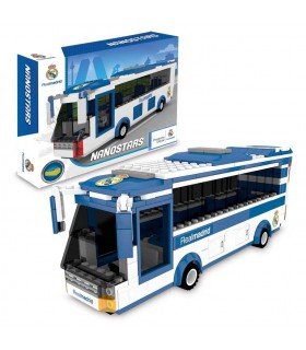 Autobús Real Madrid NAN03000 NANOSTARS GIOCHI PREZIOSI