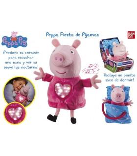 Peppa fiesta de pijamas CO06926 PEPPA PIG BANDAI