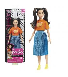 Muñeca Fashionistas Doll - Feelin' Bright GHW59 BARBIE