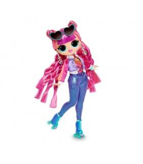 L.O.L. OMG Fashion dolls S3 Disco Roller Chick LLUE0110 LOL SURPRISE MGA