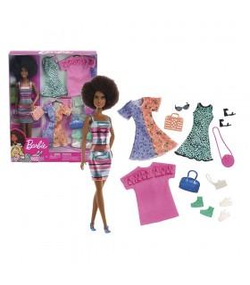 Barbie fashion con moda y accesorios GHT32 BARBIE