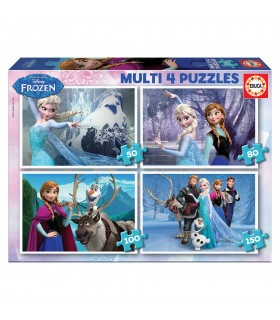 Puzzle Multi 4 16173 FROZEN EDUCA