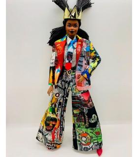 Muñeca Barbie colección Jean Michel Basquiat GHT53 BARBIE