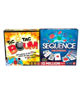 Pack Tic Tac Boom + Sequence 914531 GOLIATH