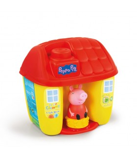 Cubos forma casita con bloques 17346 PEPPA PIG BABY CLEMMY