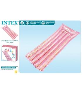Colchoneta glitter rosa 56720EU INTEX INTEX
