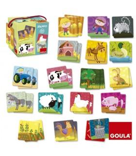 Memo loto granja animales 53414 GOULA