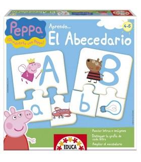 Juego educativo Aprendo el abecedario 15652 PEPPA PIG