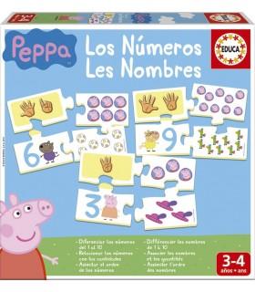 Juego educativo Aprendo Los Números 16224 PEPPA PIG