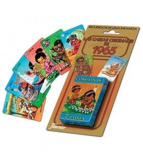Baraj de cartas infantiles familias 7 paises 10023389 FOURNIER