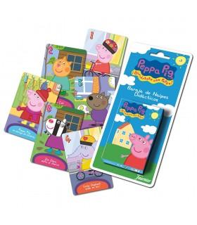 Baraja de cartas infantiles Peppa Pig 10023466 PEPPPA PIG FOURNIER