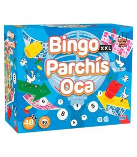 Bingo XXL premium + parchis + oca 31063 FALOMIR