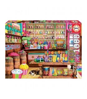 Puzzle 1000 piezas Tienda de dulces 17104 STAR WARS EDUCA