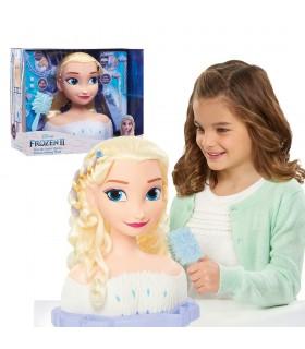 Busto básico deluxe Elsa FRND6000 PRINCESAS DISNEY FAMOSA