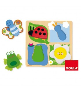 Puzzle campo tela 53012 GOULA