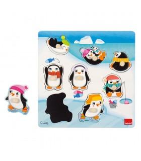 Puzzle pinguinos posiciones 53056 GOULA