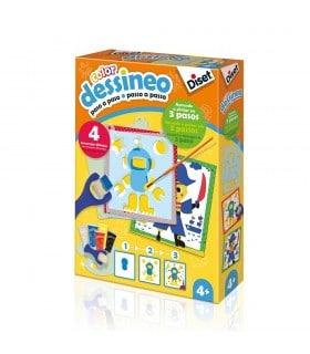 Dessineo-Aprende a pintar personajes 61014 DISET