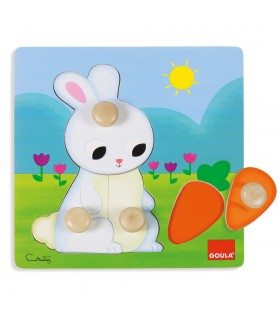 Puzzle conejo 53054 GOULA