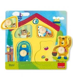 Puzzle casa familia osos 53461 GOULA