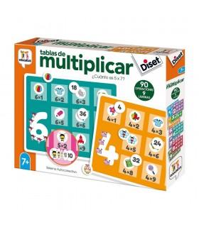 Tablas de multiplicar 68957 DISET