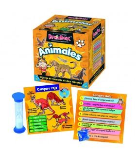 Brainbox animales TGG13403 ASMODEE