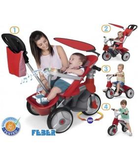 Bike trike easy evolution 800009473 FEBER