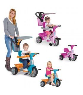 Trike baby plus music blue/pink 800010278 FEBER