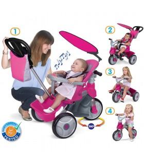 Baby trike easy evolution pink 800009561 FEBER