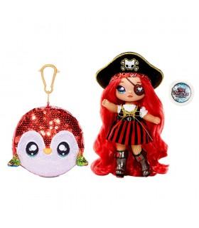 Na! Na! Na! Surprise 2-in-1 Pom Doll- Becky Buckaneer 573791 NA NA NA MGA