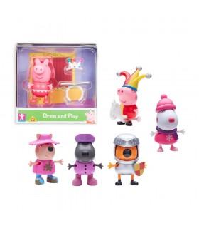 Figuras Fiesta de Disfraces CO07043 PEPPA PIG BANDAI