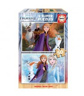Puzzle 2x25 Frozen2 18086 FROZEN EDUCA