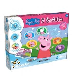 Peppa Pig y los 5 sentidos 80003060 PEPPA PIG SCIENCE4YOU