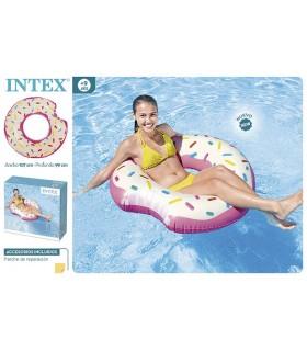 Flotador donuts de fresa 56265NP INTEX