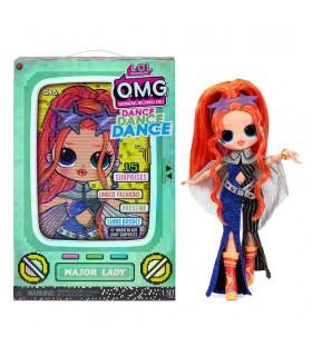 L.O.L. Surprise OMG Dance Doll- Major Lady 117889 LOL SURPRISE MGA
