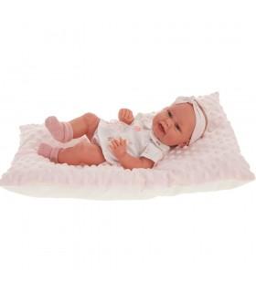 Muñeco Recién Nacido Baby Clara Cojín 60028 MUÑECAS ANTONIO JUAN