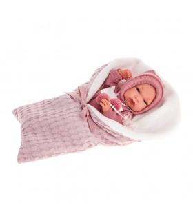 Muñeco Recién Nacido Baby Clara Cojín 60145 MUÑECAS ANTONIO JUAN