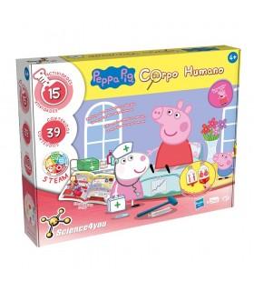 Aventura cuerpo humano Peppa Pig 80002995 PEPPA PIG SCIENCE4YOU