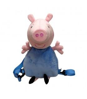 Peluche mochila 3D Peppa Pig-George MC-103-PG PEPPA PIG CYP